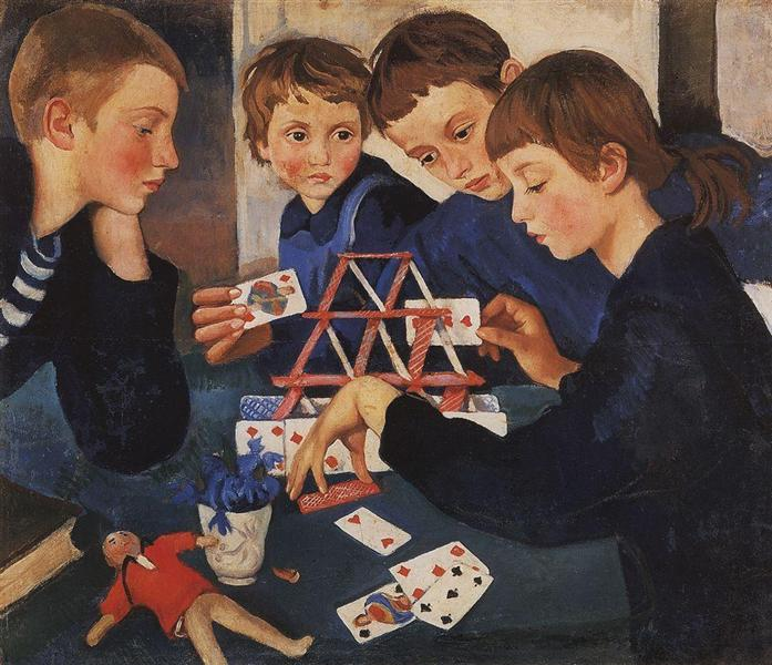 Zinaida Serebriakova – House of Cards