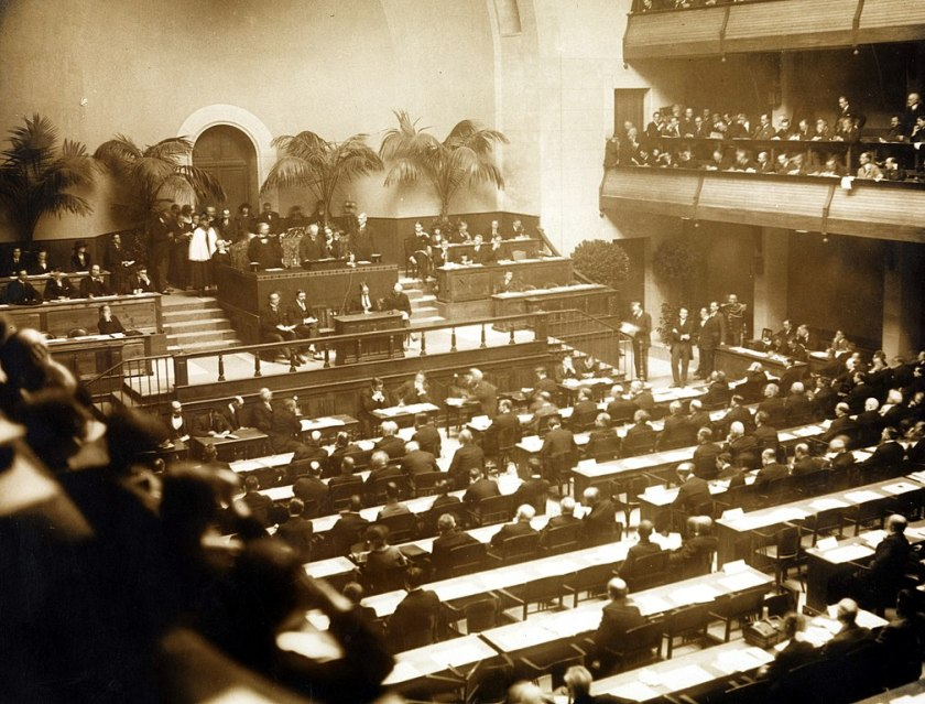 November 15 – In Geneva, the first assembly of the League of Nations is held
