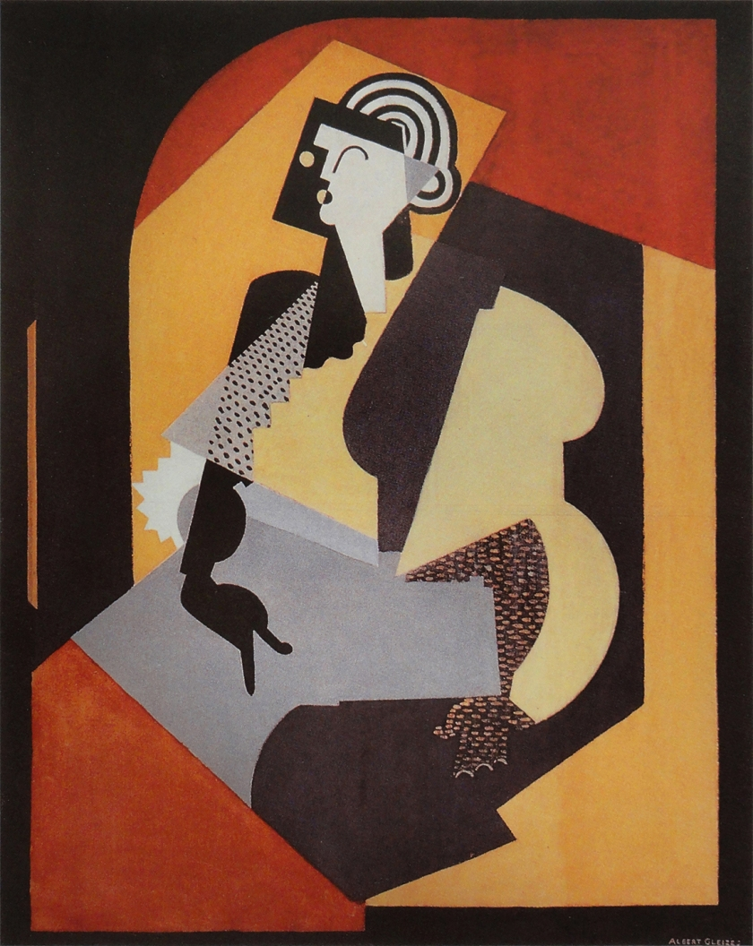 Albert Gleizes - Woman With Black Glove