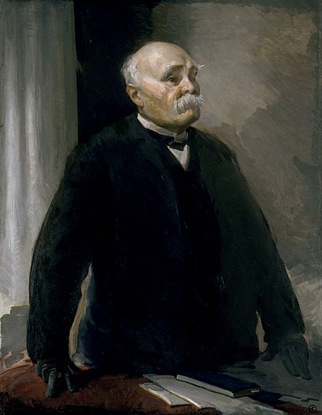 Cecilia Beaux – Portrait of Georges Clemenceau