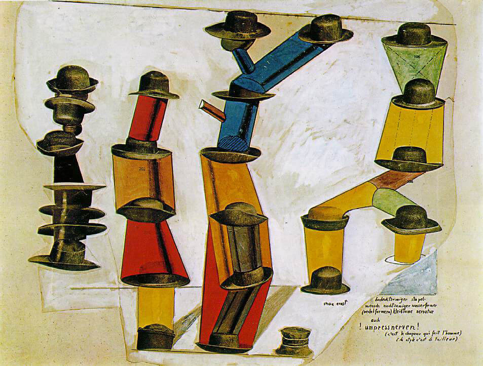 Max Ernst - The Hat Makes the Man