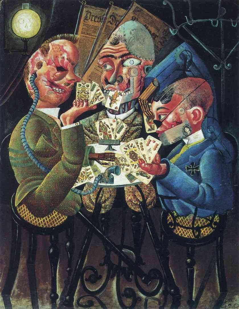 Otto Dix - The Card Players