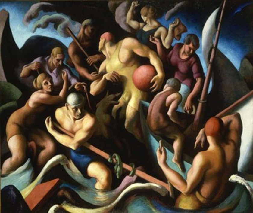 Thomas Hart Benton – People of Chilmark