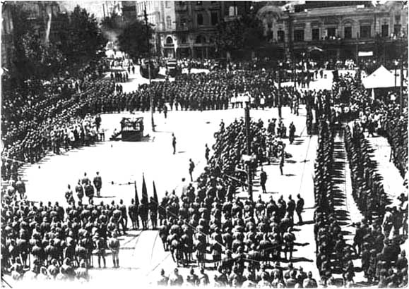 February 12 – The Democratic Republic of Georgia is invaded by forces of Bolshevist Russia.