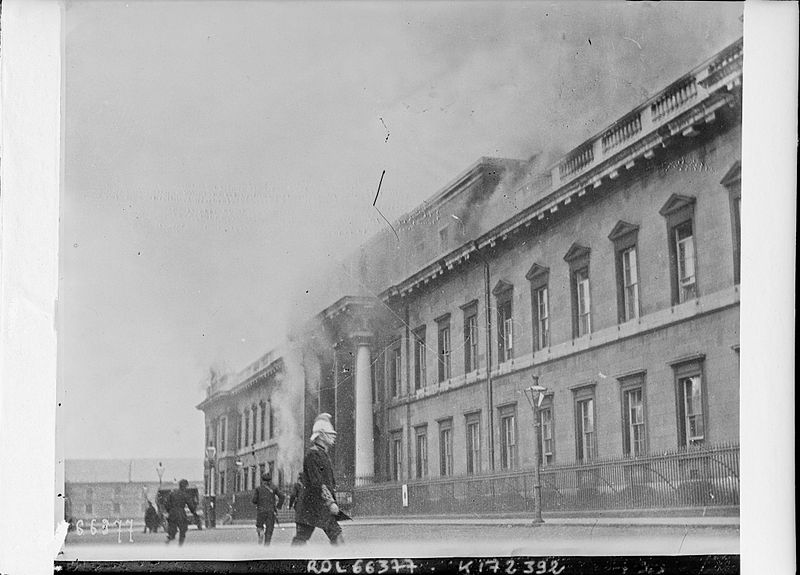May 25 – The Irish Republican Army occupies and burns The Custom House in Dublin. Five IRA men are killed, and over 80 are captured by the British Army.
