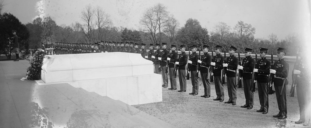 November 11 – During an Armistice Day ceremony at Arlington National Cemetery, the Tomb of the Unknown Soldier is dedicated by Warren G. Harding, President of the United States.