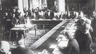 October 13 - The Treaty of Kars is signed between Turkey and the Soviet Socialist Republics of Armenia, Azerbaijan and Georgia, establishing the boundaries of the south Caucasus.