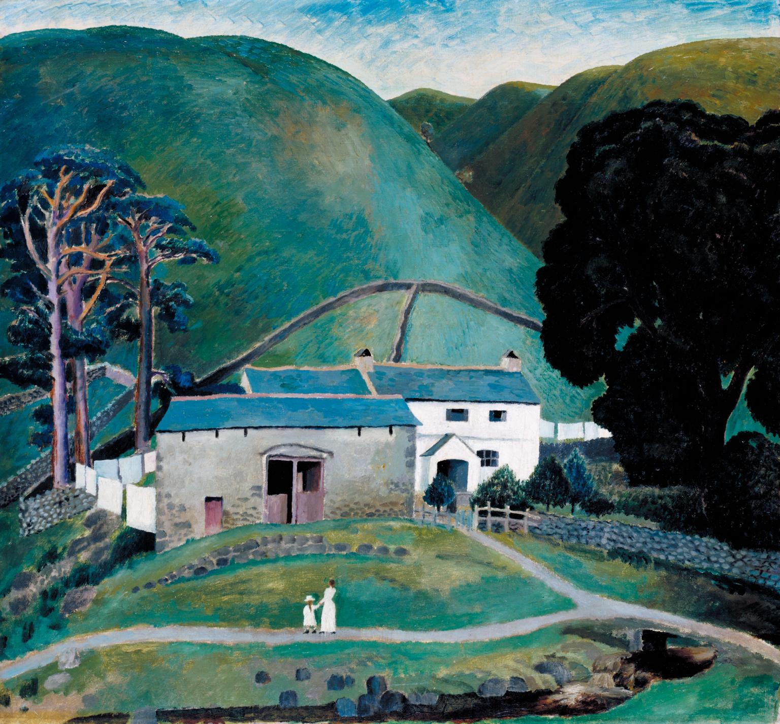 Farm at Watendlath 1921 by Dora Carrington 1893-1932