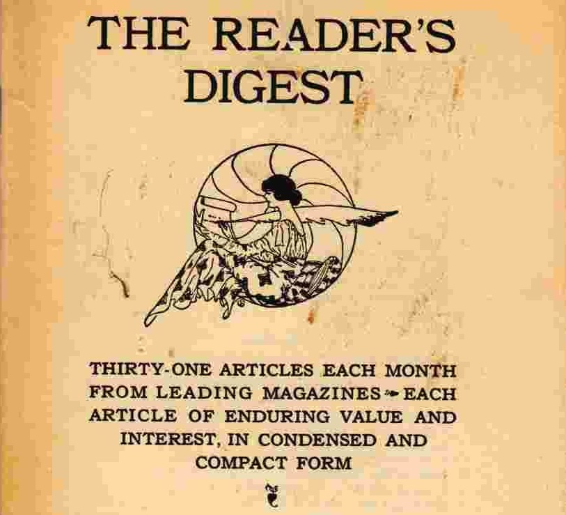 February 5 – DeWitt and Lila Wallace publish the first issue of Reader's Digest.