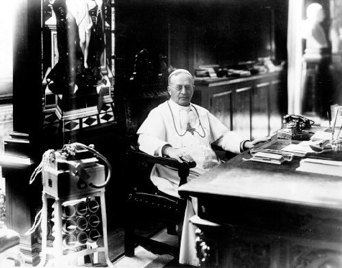 February 6 - Pope Pius XI (Achille Ratti) succeeds Pope Benedict XV, to become the 259th pope.