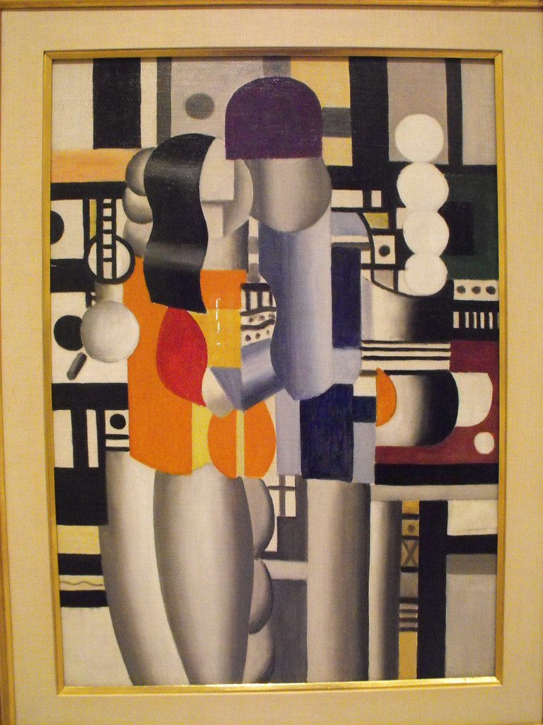 Fernand Léger - Man and Woman