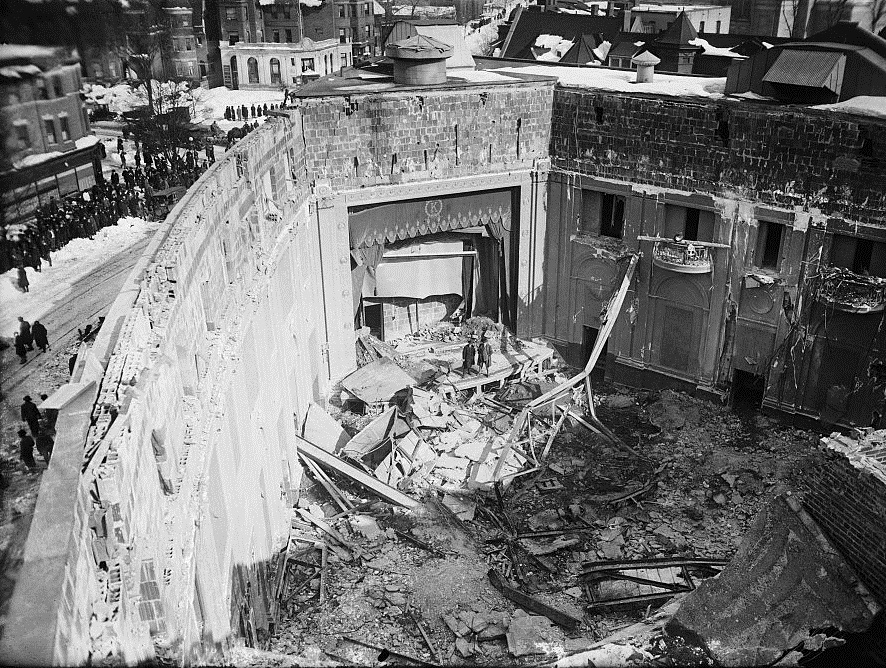 January 28 – Snowfall from the biggest-ever recorded snowstorm in Washington, D.C., causes the roof of the Knickerbocker Theatre to collapse, killing 98.