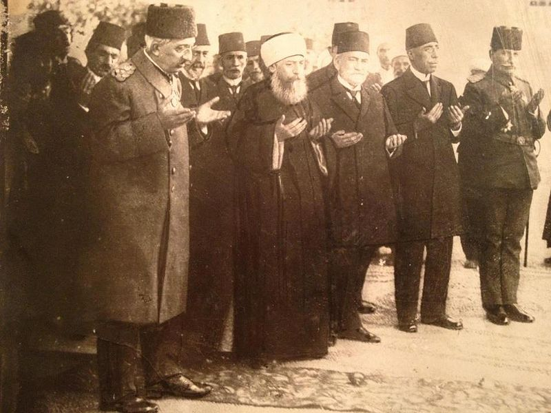November 1 - The Ottoman Empire is abolished after 600 years, and its last sultan, Mehmed VI, abdicates, leaves for exile in Italy on November 17.
