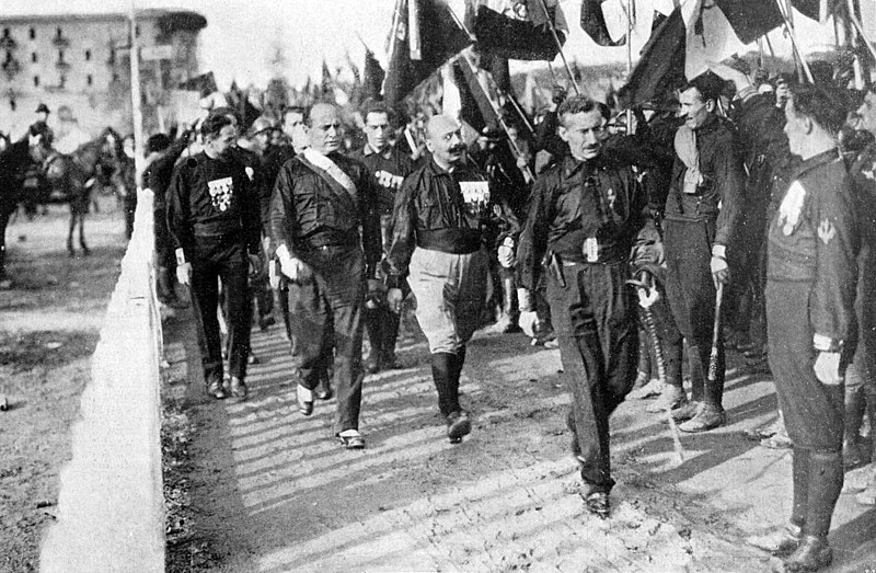 October 28 - In Italy, the March on Rome brings the National Fascist Party and Benito Mussolini to power.