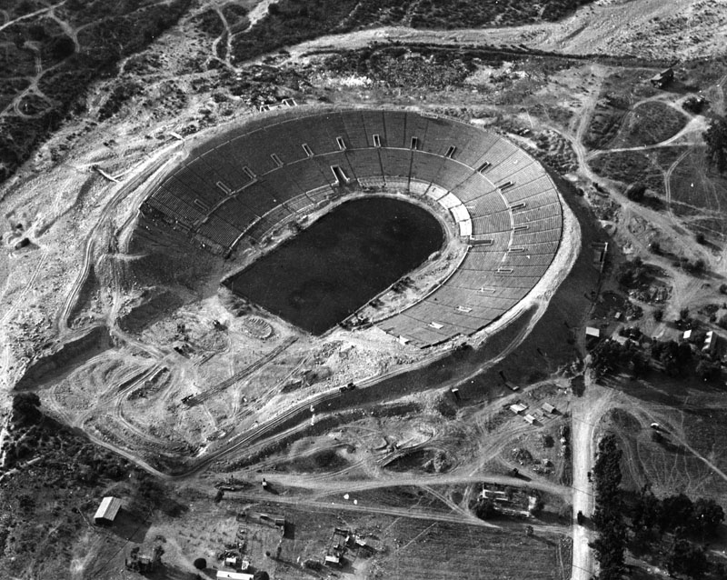 October 28 - The Rose Bowl Stadium officially opened in Pasadena, California
