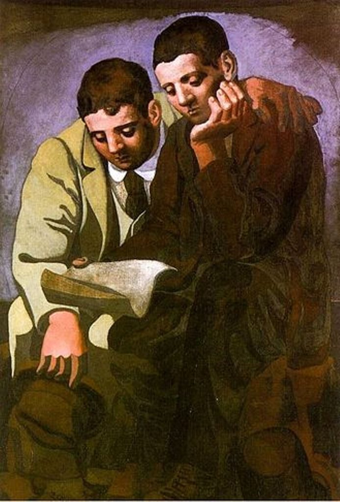 Pablo Picasso - Reading the Letter