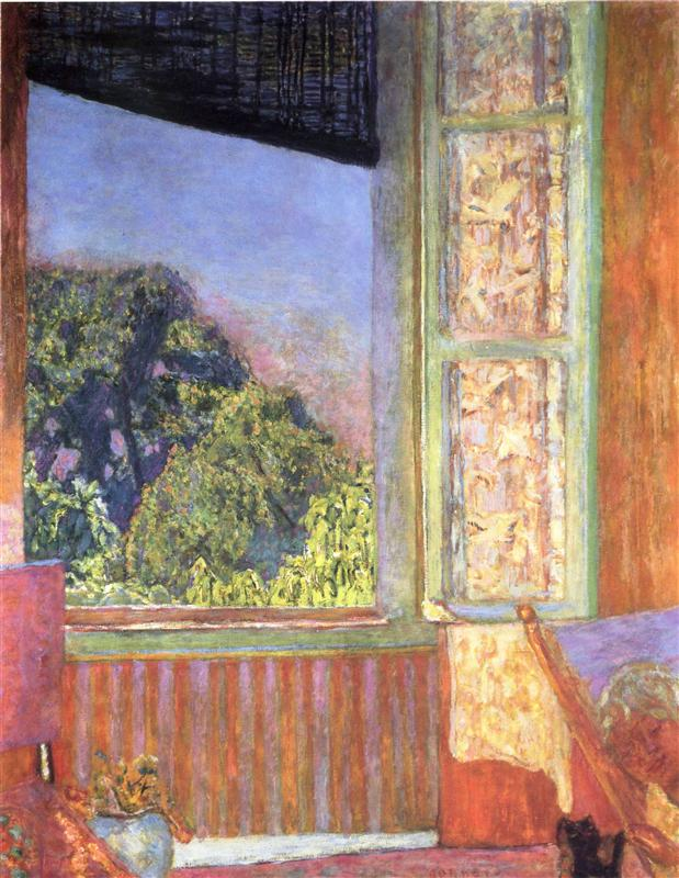 Pierre Bonnard - The Open Window