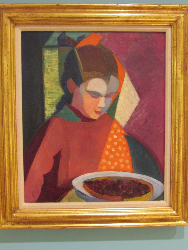 Ángel Zárraga - Girl With Cherry Tart