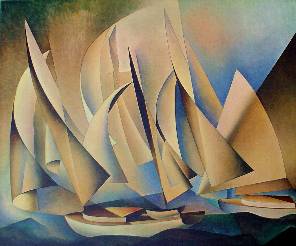 Charles Sheeler – Pertaining to Yachts and Yachting