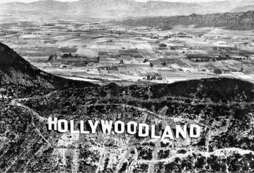 July 13 - The Hollywood Sign is inaugurated in California (originally reading Hollywoodland)