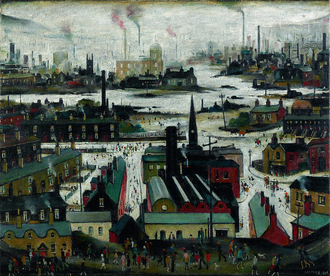 L. S. Lowry – A Manufacturing Town