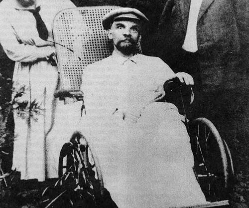 March 9 – Vladimir Lenin suffers his third stroke, which renders him bedridden and unable to speak. Consequently he retires from his position as Chairman of the Soviet government.