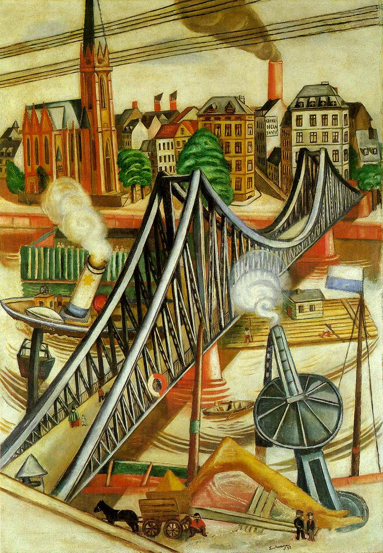 Max Beckmann – The Iron Footbridge