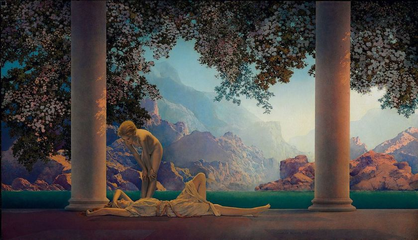 Maxfield Parrish – Daybreak