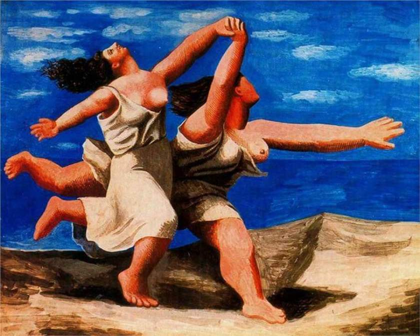 Pablo Picasso – Two Women Running on the Beach (The Race)