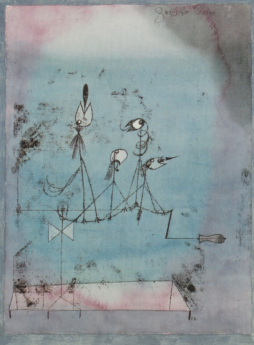 Paul Klee – Twittering Machine