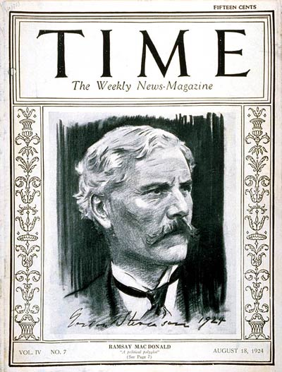 January 22 – Ramsay MacDonald becomes the first Labour Prime Minister of the United Kingdom.