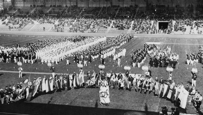 May 4 – The 1924 Summer Olympics opening ceremonies are held in Paris, France.