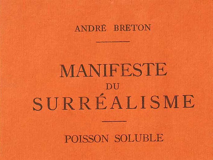 October 15 – The first Surrealist Manifesto is published, in which André Breton defines the movement as ''pure psychic automatism''