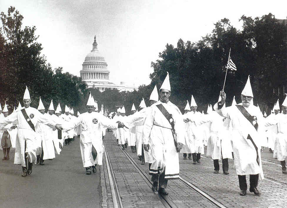 August 8 – The Ku Klux Klan demonstrates its popularity by holding a parade with an estimated 30,000-35,000 marchers in Washington DC.