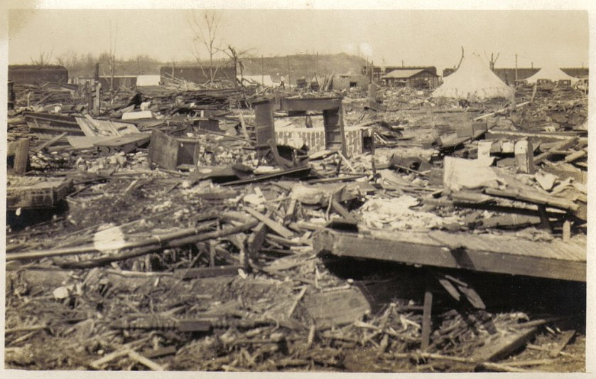 March 18 – The Tri-State Tornado, the deadliest in U.S. history, rampages through Missouri, Illinois, and Indiana, killing 695 people and injuring 2,027