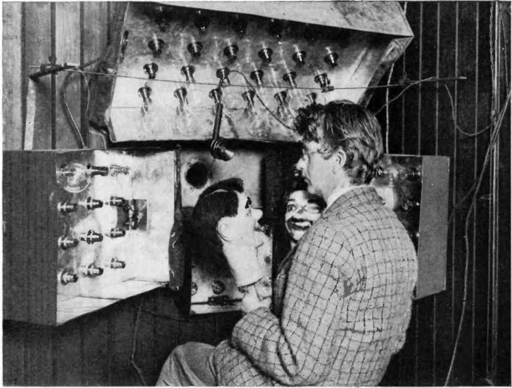 January 26 – Scottish inventor John Logie Baird demonstrates a mechanical television system for members of the Royal Institution, and a reporter from The Times, at his London laboratory.
