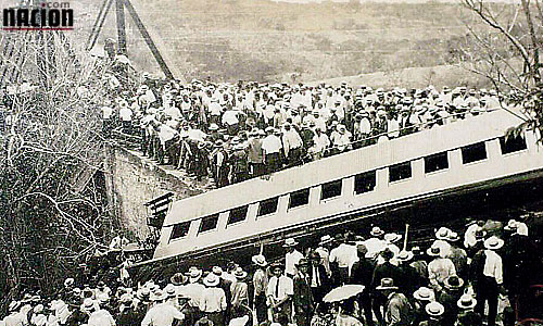 March 14 – The El Virilla train accident occurs in Costa Rica killing 248 and injuring 93.