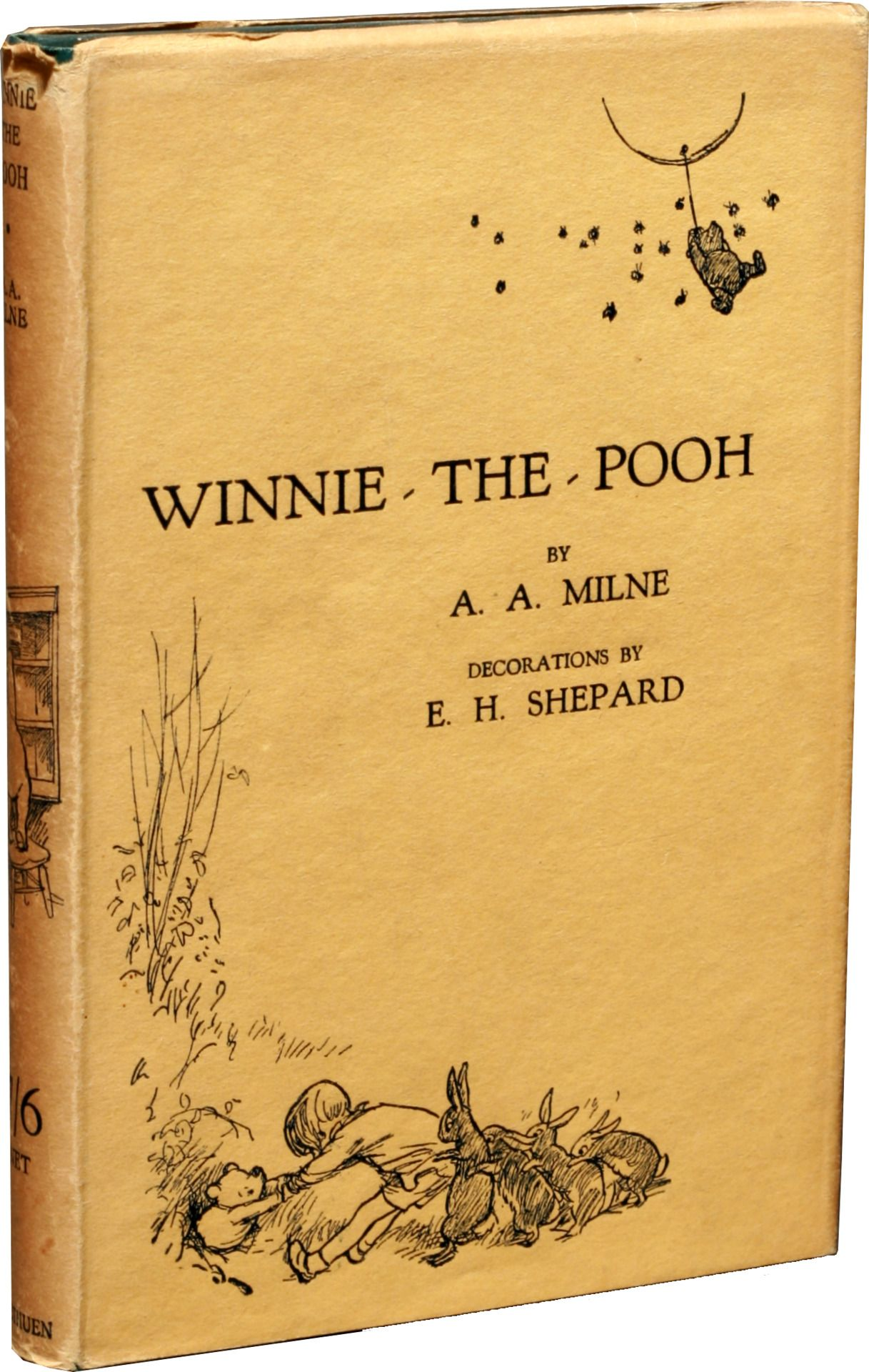 October 14 – A. A. Milne's children's book Winnie-the-Pooh is published in London, featuring the eponymous bear.