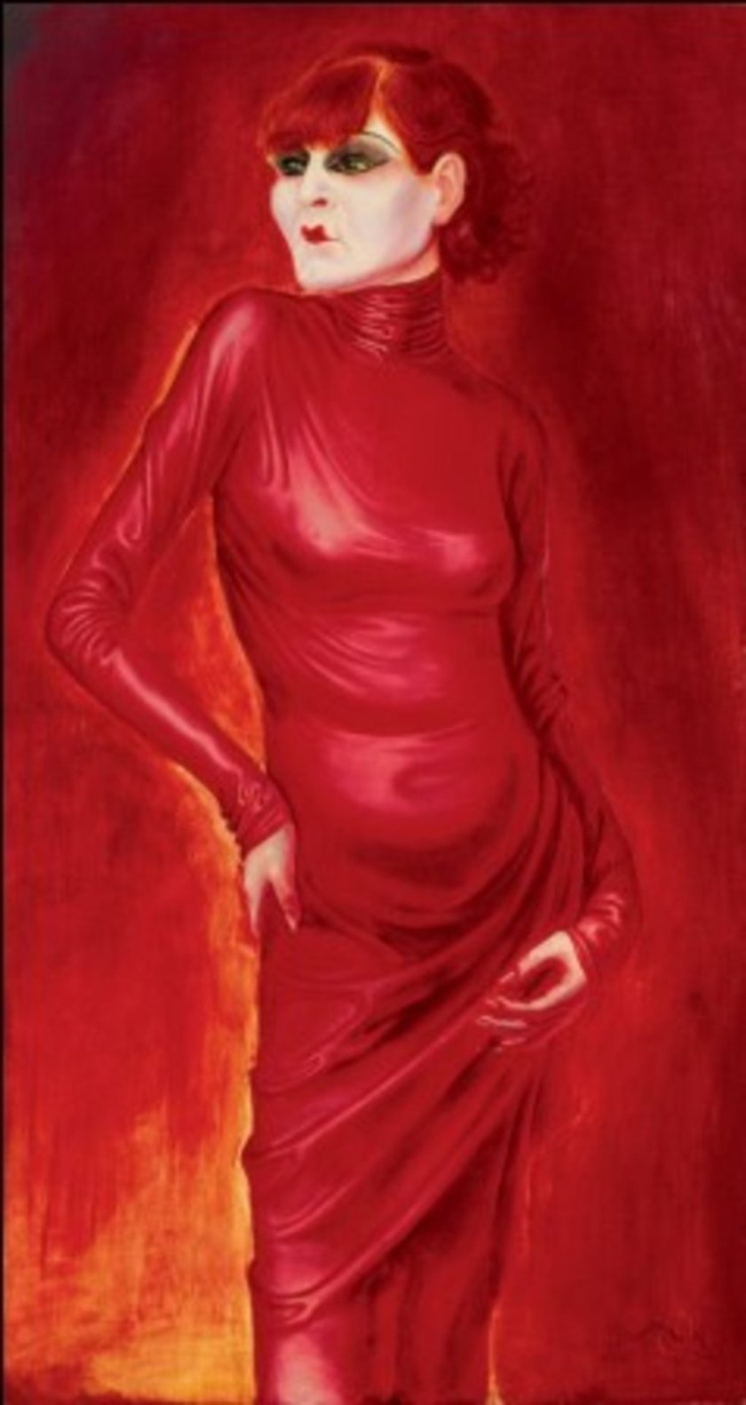 Otto Dix – Portrait of the Dancer Anita Berber