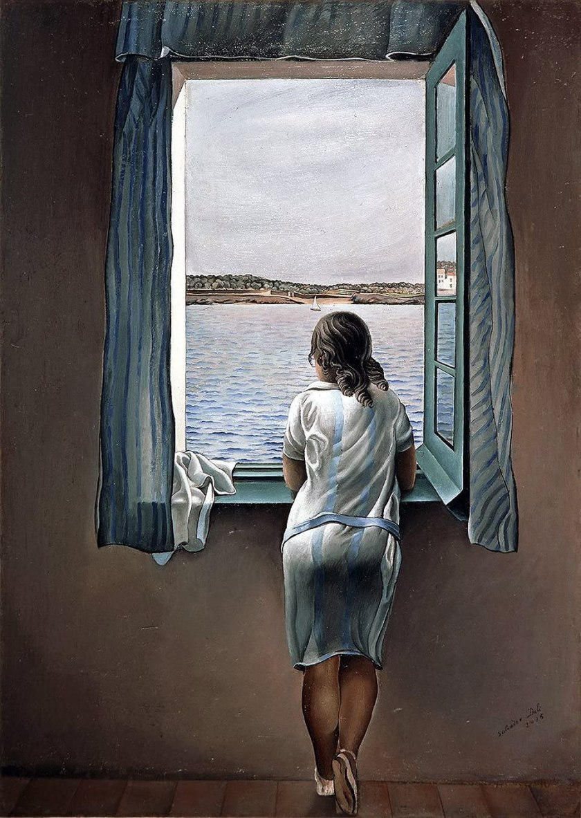 Salvador Dalí - Young Woman at a Window