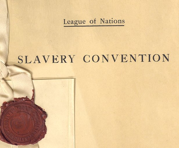September 25 - The League of Nations Slavery Convention abolishes all types of slavery.