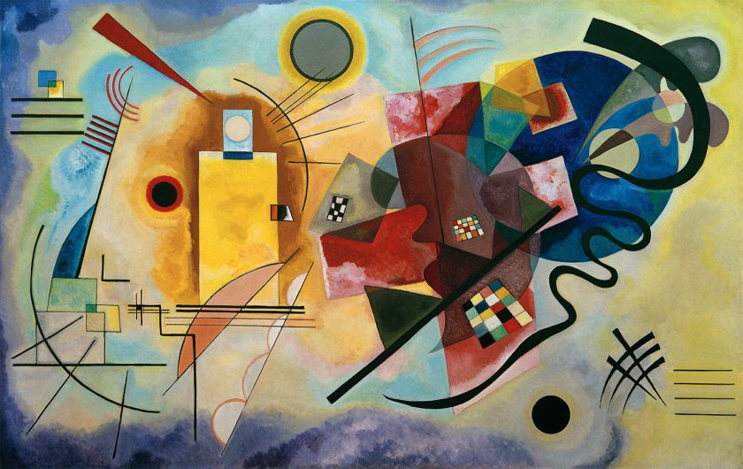 Wassily Kandinsky – Yellow-Red-Blue