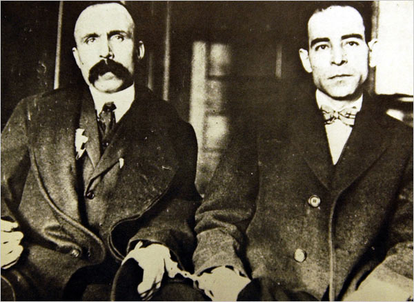 August 22 – Protests are held around the world against the death sentences on Italian American anarchists Sacco and Vanzetti.They are executed the next day.