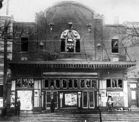 January 9 - A fire at the Laurier Palace movie theatre in Montreal, Quebec, Canada, kills 78 children