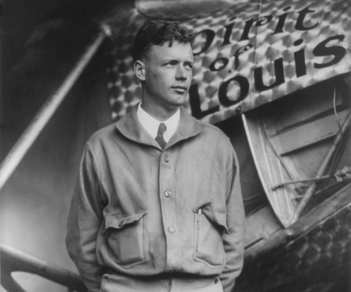 May 20–21– Charles Lindbergh makes the first solo, nonstop transatlantic airplane flight, from New York City to Paris, France, in his single-engined aircraft, the Spirit of St. Louis.