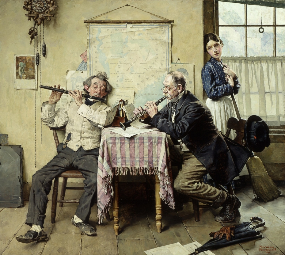 Norman Rockwell - The Love Song